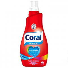Течен прах Coral Fresh color 1,1L
