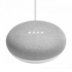 Безжична колонка Google Home mini Speaker, Сив