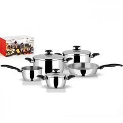 Комплект тенджери Pyramis Gourmet 5+3 части