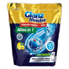 Таблетки за съдомиялна GLANZ MEISTER 90 бр.