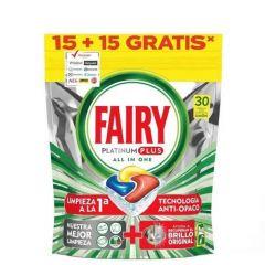 Таблетки за съдомиялна Fairy Platinum 15+15 бр.