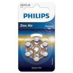 Батерия за слухов апарат PHILIPS ZA312B6A/00