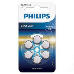 Батерия за слухов апарат PHILIPS ZA675B6A/00