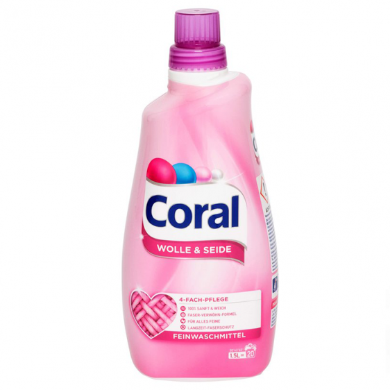 Течен прах Coral Wolle & Seide 1,5L