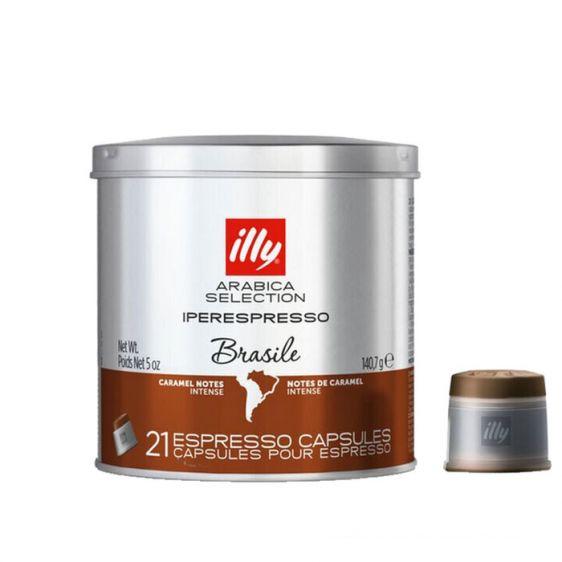 Кафе капсули ILLY Brasile 21 бр.