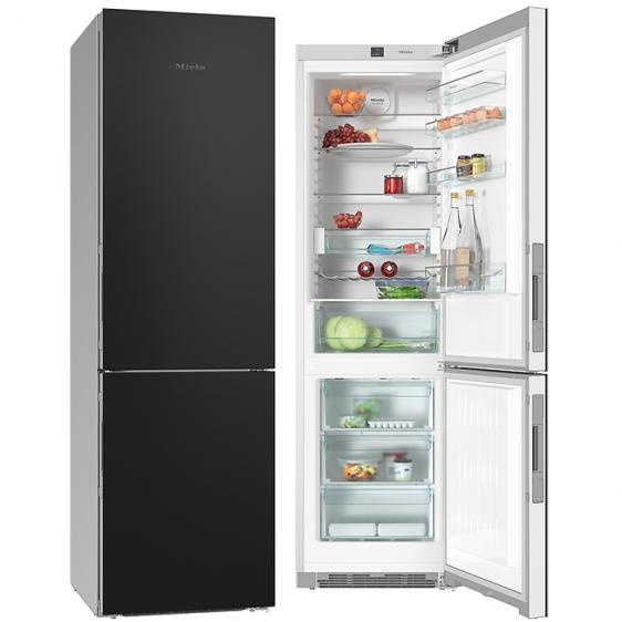 Хладилник с фризер MIELE ΚFN 29233 D Black Board