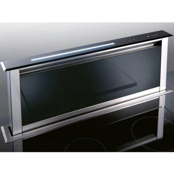 Абсорбатор за вграждане BEST Lift Glass Black 60
