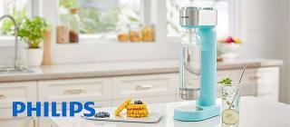 Доставете си нужната доза освежаваща газирана вода по всяко време с машината за сода GoZero на Philips.